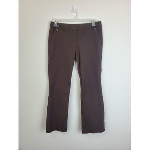 The Limited drew fit pants Sz 10L brown career